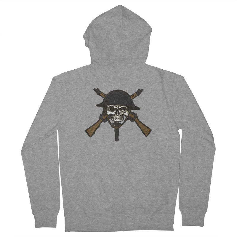 Do Your Bit on the Battlefield Men's Zip-Up Hoody by andreusd's Artist Shop