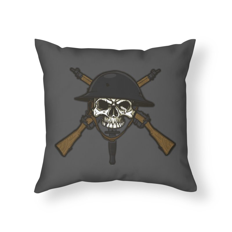 Do Your Bit on the Battlefield Home Throw Pillow by andreusd's Artist Shop