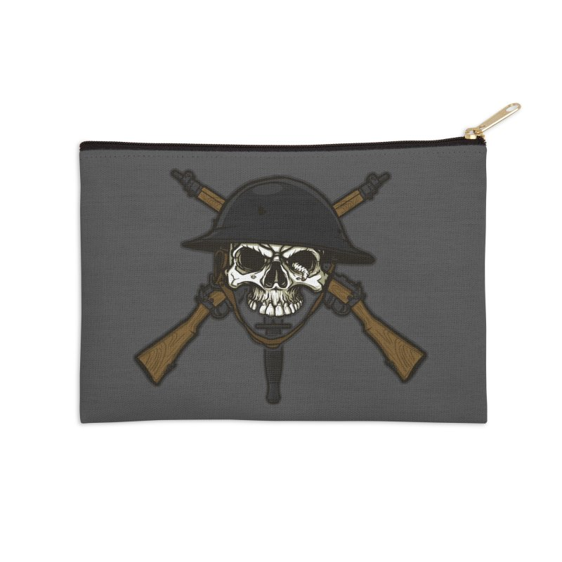 Do Your Bit on the Battlefield Accessories Zip Pouch by andreusd's Artist Shop