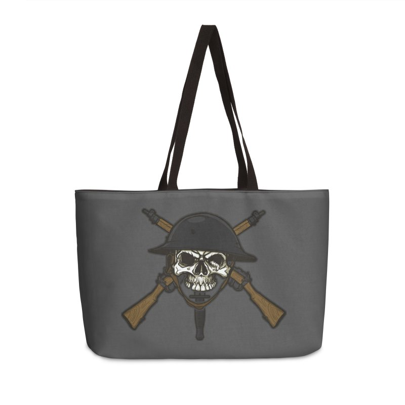 Do Your Bit on the Battlefield Accessories Weekender Bag Bag by andreusd's Artist Shop