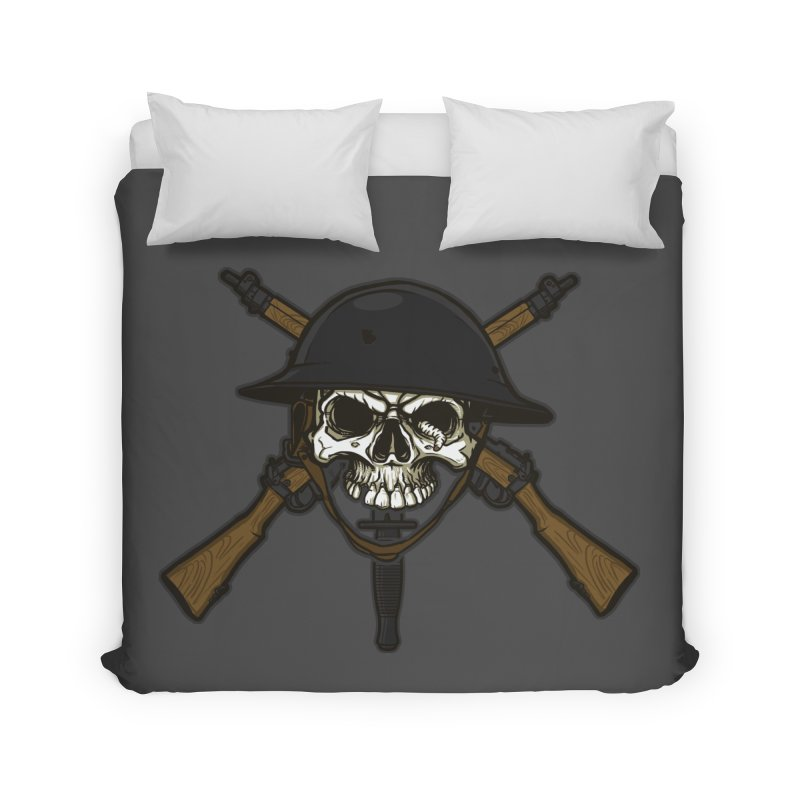Do Your Bit on the Battlefield Home Duvet by andreusd's Artist Shop