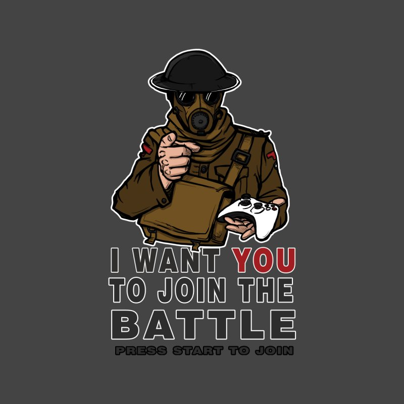 Join the Battle Men's Longsleeve T-Shirt by andreusd's Artist Shop