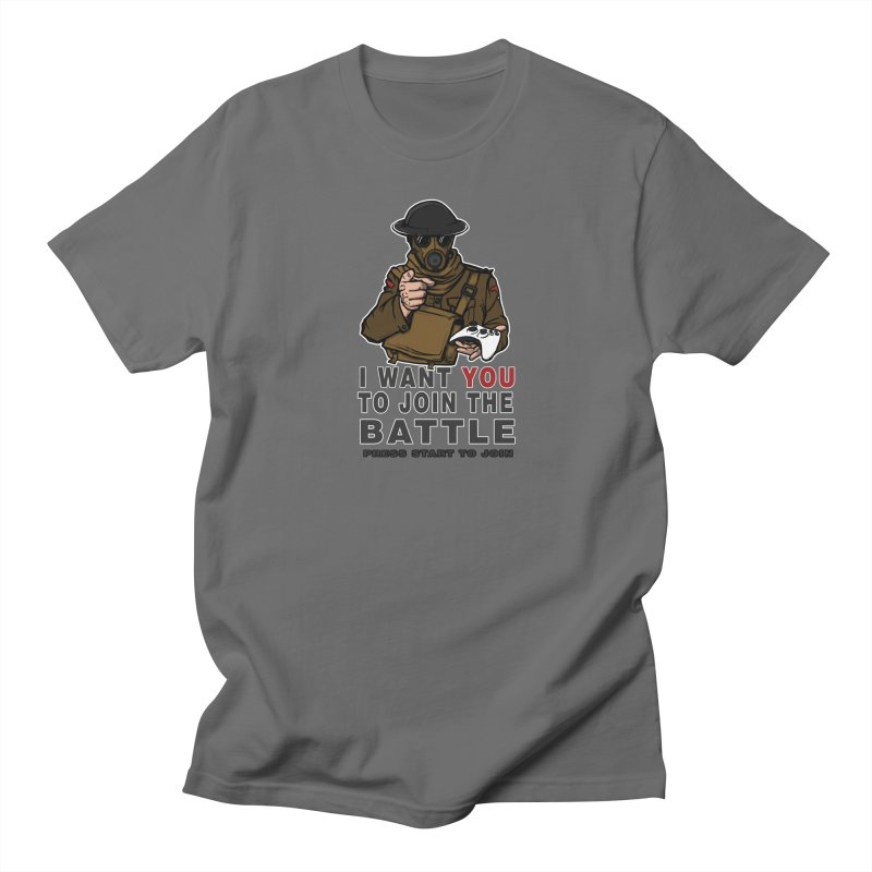 Join the Battle Men's T-Shirt by andreusd's Artist Shop