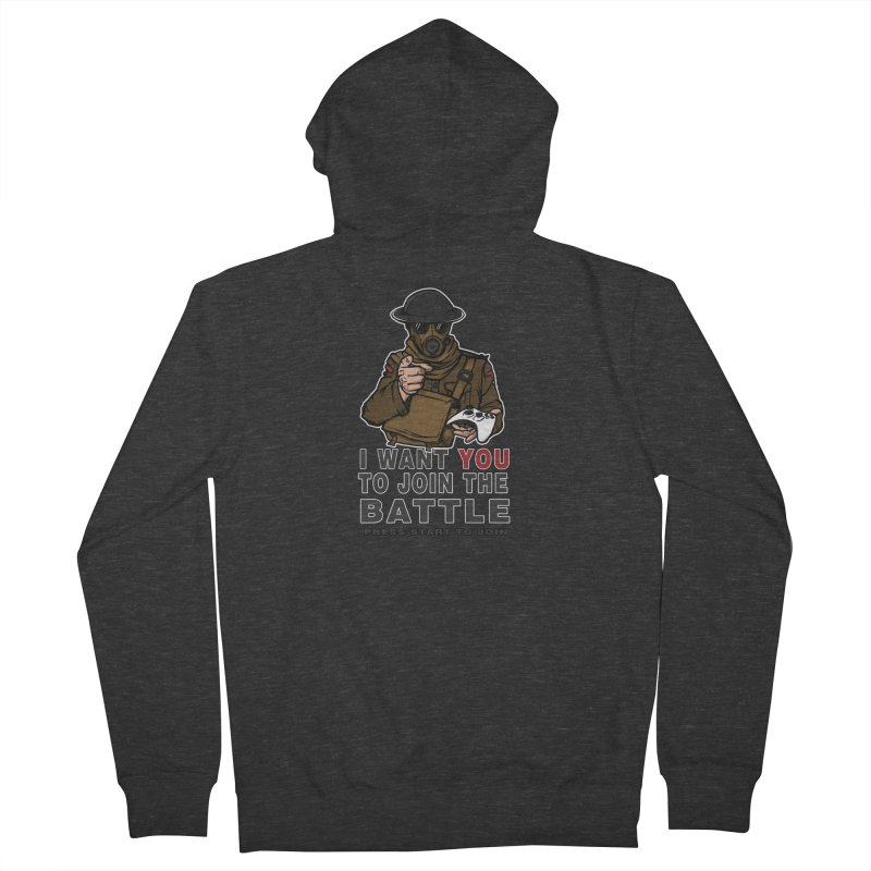 Join the Battle Men's Zip-Up Hoody by andreusd's Artist Shop