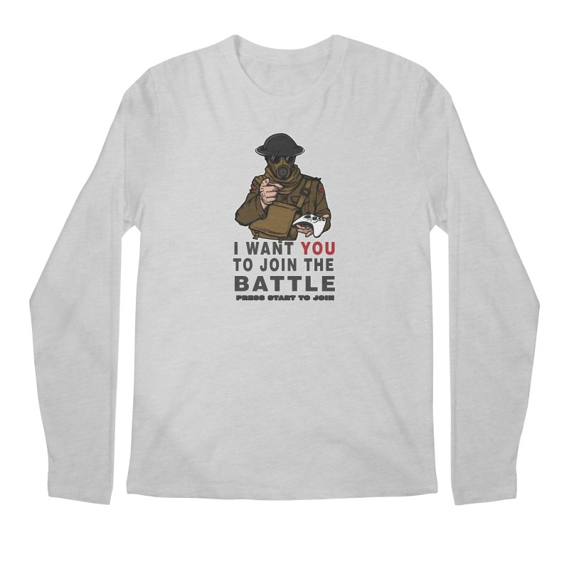 Join the Battle Men's Regular Longsleeve T-Shirt by andreusd's Artist Shop