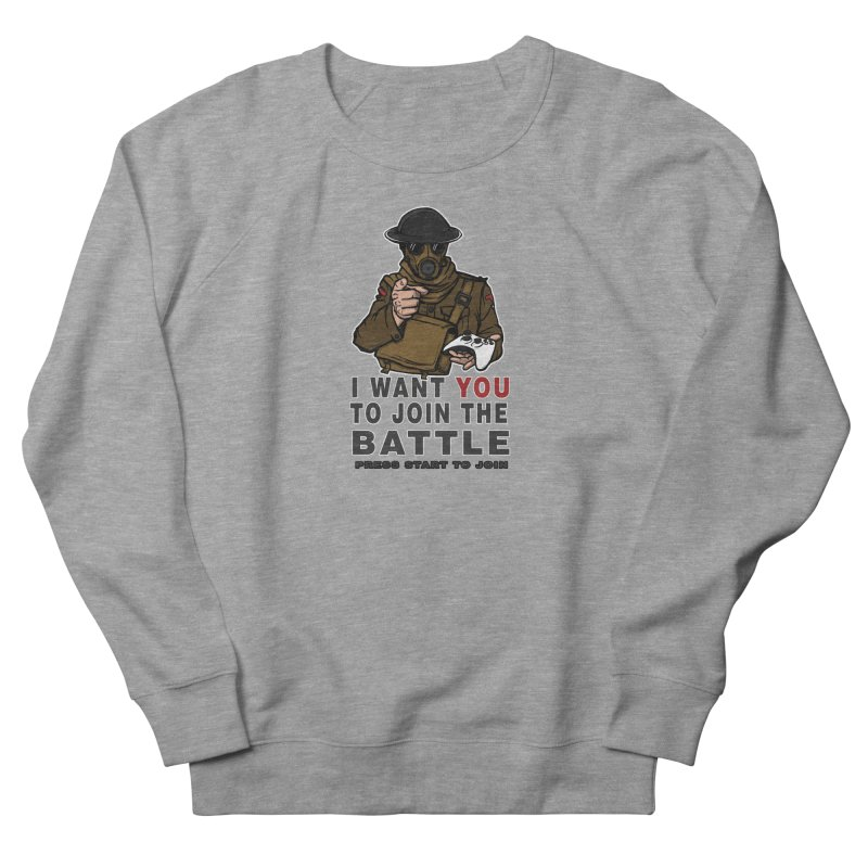Join the Battle Men's Sweatshirt by andreusd's Artist Shop