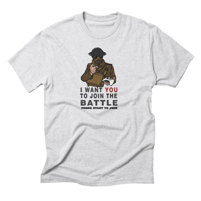 Join the Battle Men's Triblend T-shirt by andreusd's Artist Shop