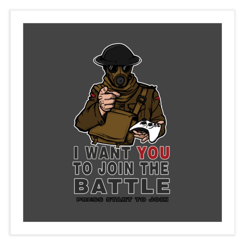 Join the Battle Home Fine Art Print by andreusd's Artist Shop
