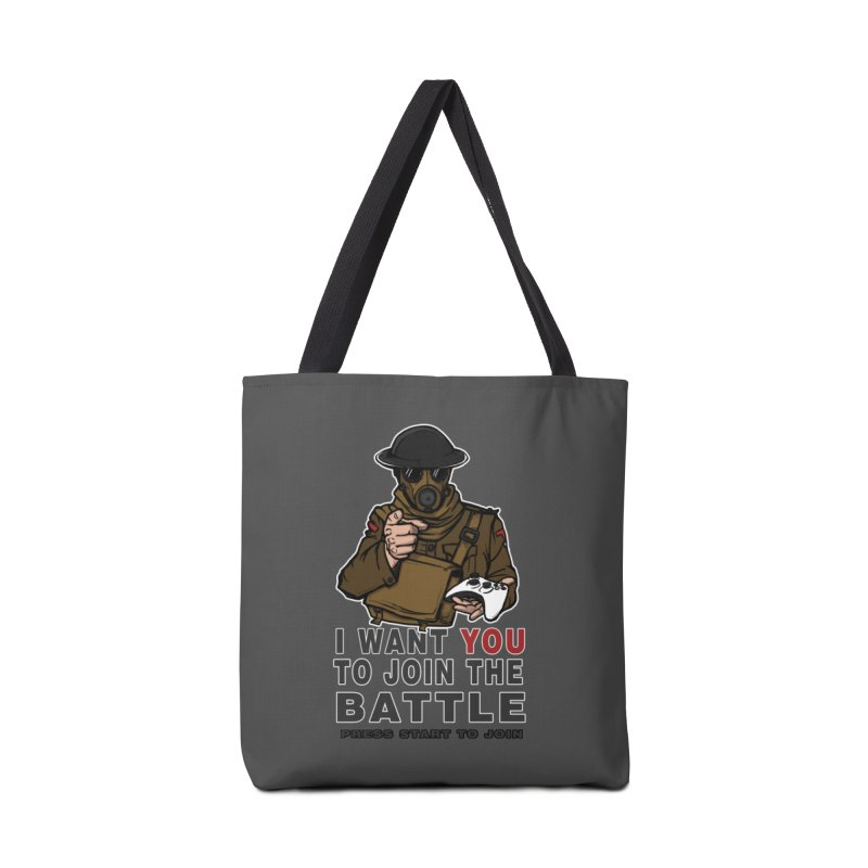 Join the Battle Accessories Tote Bag Bag by andreusd's Artist Shop
