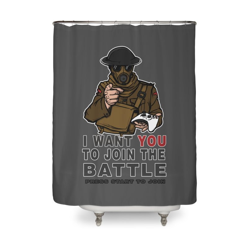 Join the Battle Home Shower Curtain by andreusd's Artist Shop