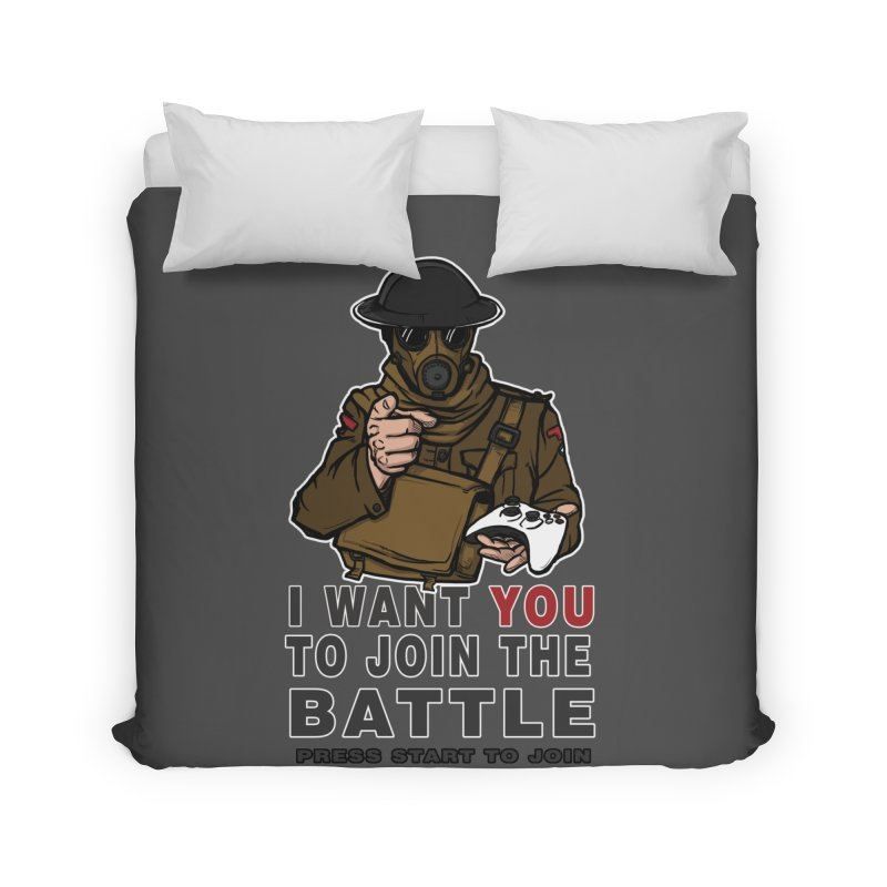 Join the Battle Home Duvet by andreusd's Artist Shop