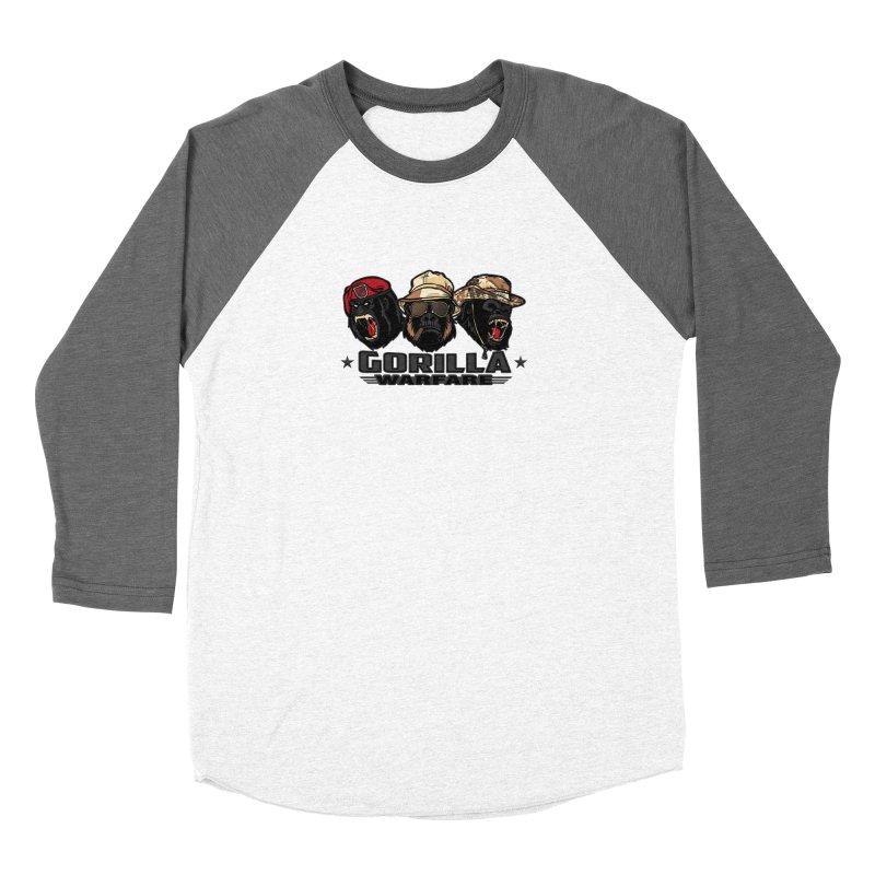 Gorilla WarFare Women's Longsleeve T-Shirt by andreusd's Artist Shop