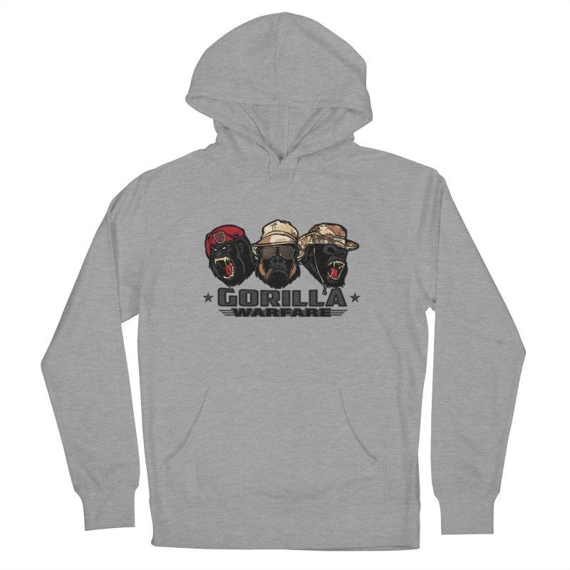 Gorilla WarFare Men's Pullover Hoody by andreusd's Artist Shop