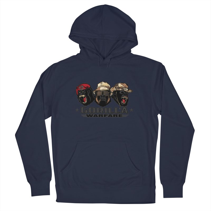 Gorilla WarFare Men's French Terry Pullover Hoody by andreusd's Artist Shop