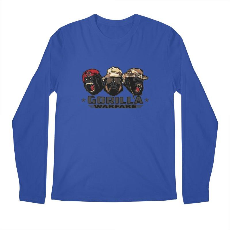 Gorilla WarFare Men's Longsleeve T-Shirt by andreusd's Artist Shop