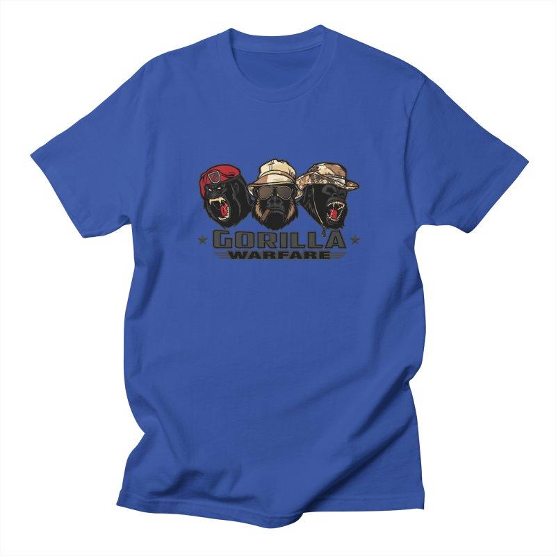 Gorilla WarFare Men's Regular T-Shirt by andreusd's Artist Shop