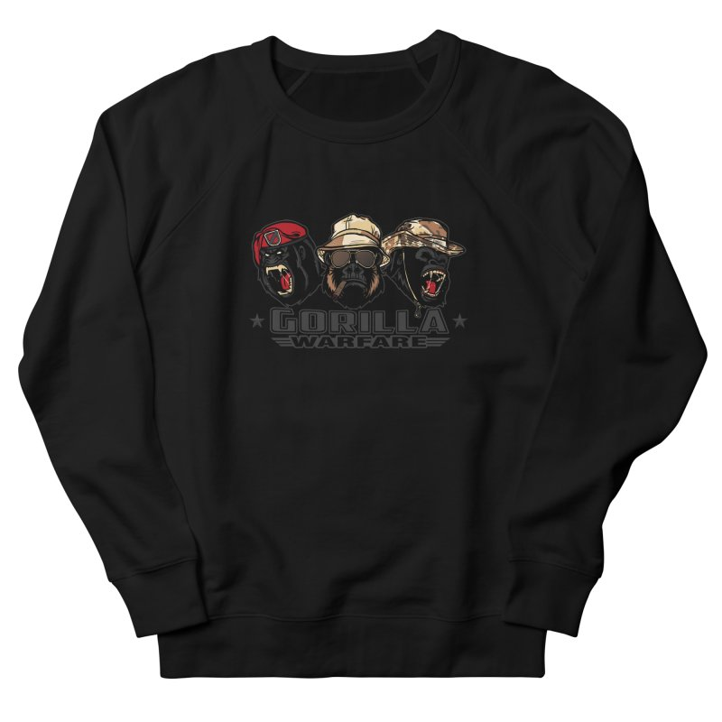 Gorilla WarFare Women's Sweatshirt by andreusd's Artist Shop