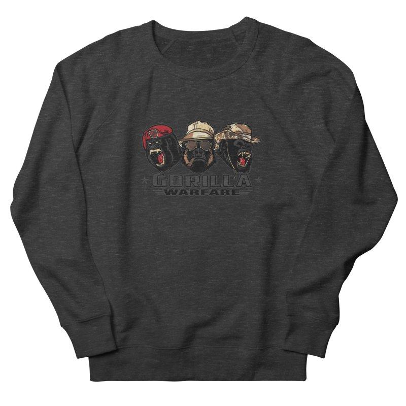 Gorilla WarFare Men's Sweatshirt by andreusd's Artist Shop