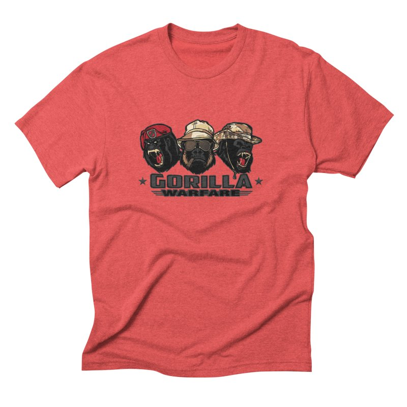 Gorilla WarFare Men's Triblend T-shirt by andreusd's Artist Shop