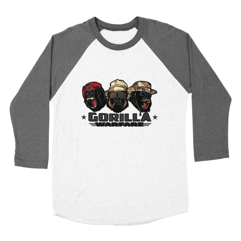 Gorilla WarFare Women's Baseball Triblend T-Shirt by andreusd's Artist Shop