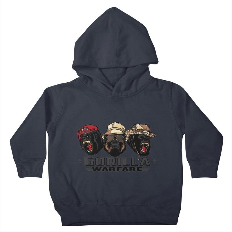 Gorilla WarFare Kids Toddler Pullover Hoody by andreusd's Artist Shop