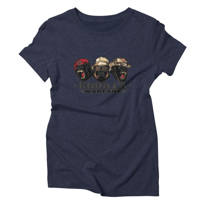 Gorilla WarFare Women's T-Shirt by andreusd's Artist Shop