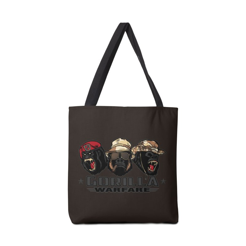 Gorilla WarFare Accessories Bag by andreusd's Artist Shop