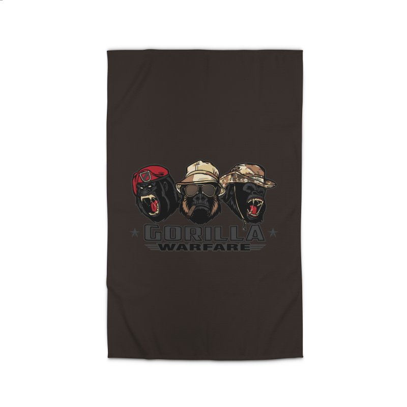 Gorilla WarFare Home Rug by andreusd's Artist Shop