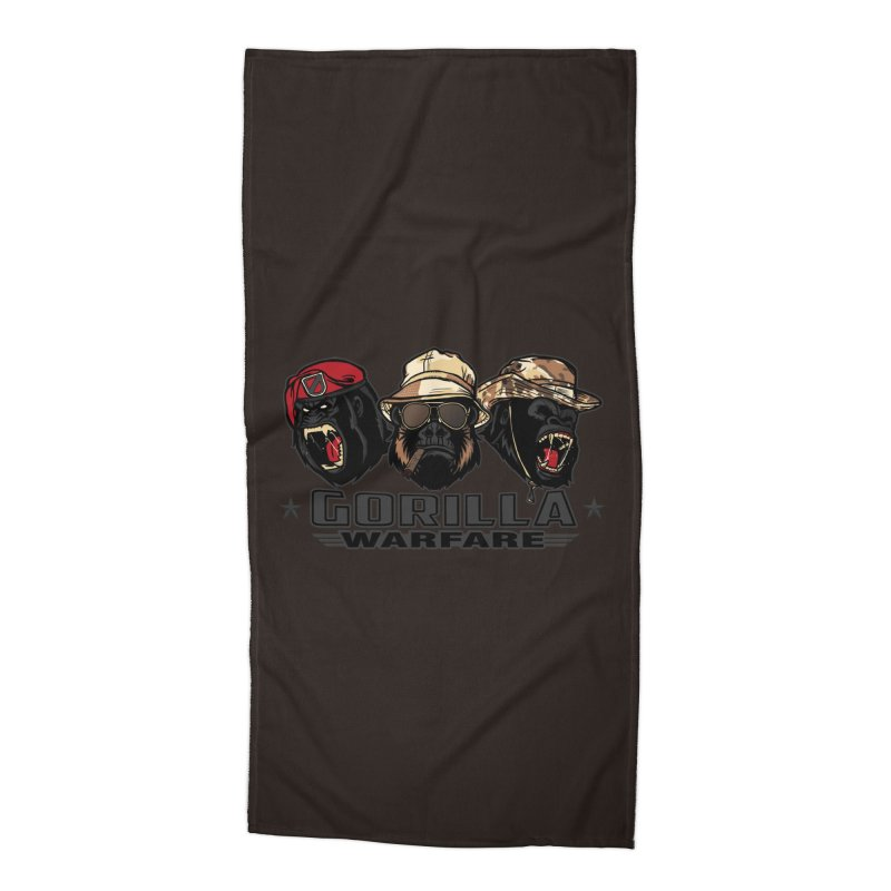 Gorilla WarFare Accessories Beach Towel by andreusd's Artist Shop
