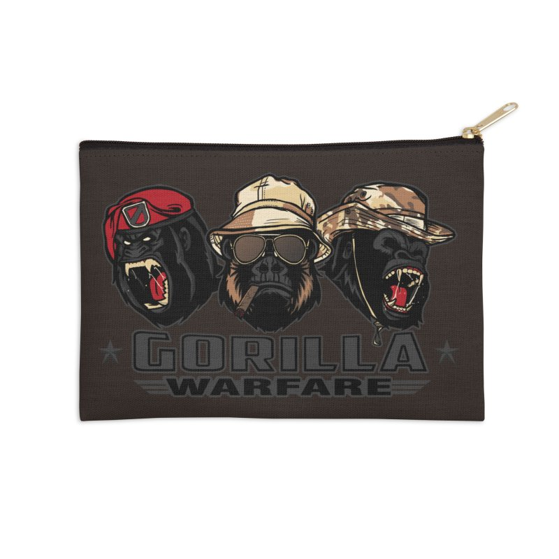 Gorilla WarFare Accessories Zip Pouch by andreusd's Artist Shop