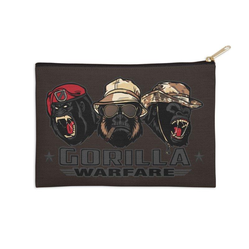 Gorilla WarFare Accessories Zip Pouch by andreusd's Artist Shop