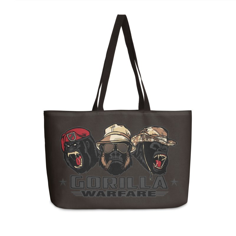 Gorilla WarFare Accessories Weekender Bag Bag by andreusd's Artist Shop