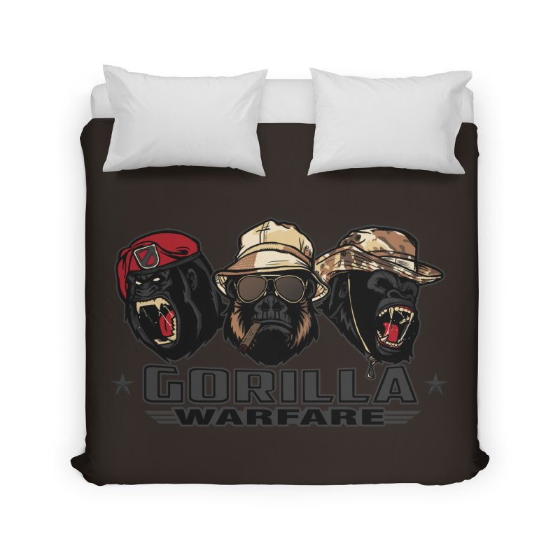 Gorilla WarFare Home Duvet by andreusd's Artist Shop
