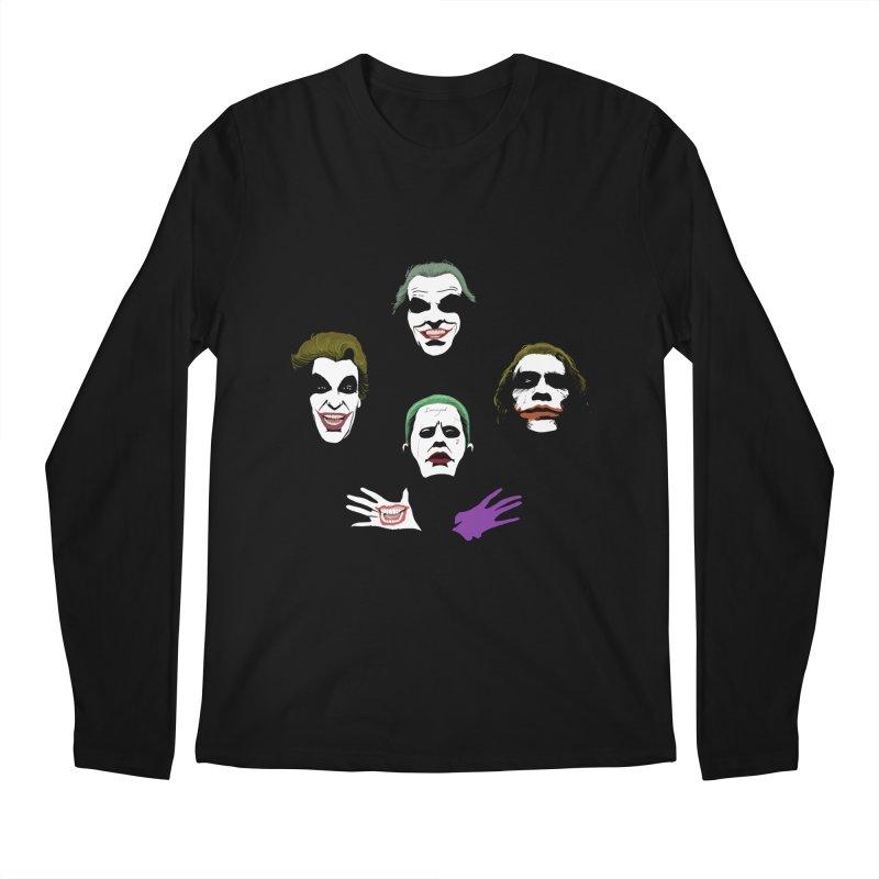 the Joker Rhapsody Men's Longsleeve T-Shirt by Andrew's Fantastic World Shop