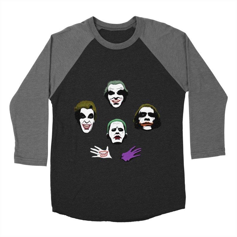 the Joker Rhapsody Women's Baseball Triblend Longsleeve T-Shirt by Andrew's Fantastic World Shop