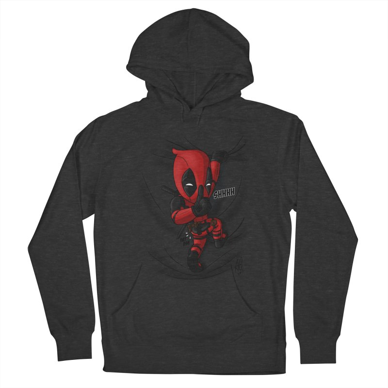 shush Mr. Pool is coming Men's Pullover Hoody by Andrew's Fantastic World Shop