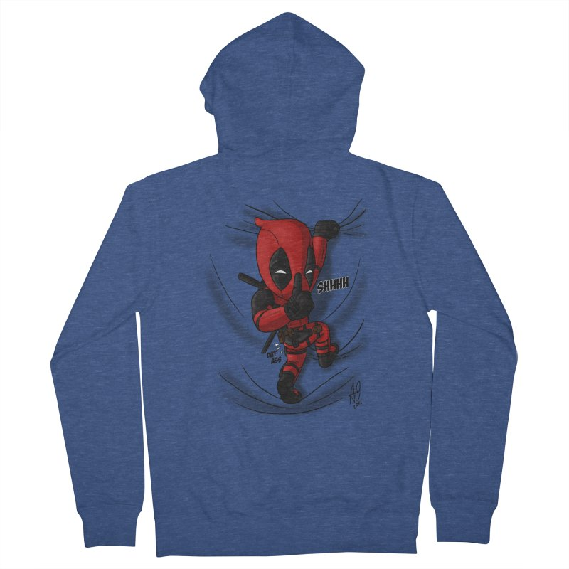 shush Mr. Pool is coming Women's Zip-Up Hoody by Andrew's Fantastic World Shop