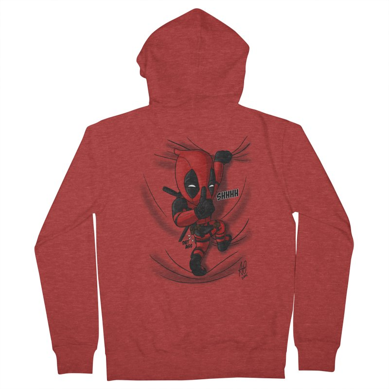 shush Mr. Pool is coming Men's Zip-Up Hoody by Andrew's Fantastic World Shop