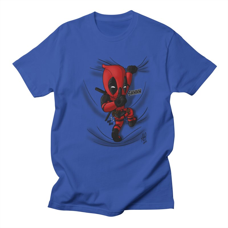 shush Mr. Pool is coming Men's T-Shirt by Andrew's Fantastic World Shop