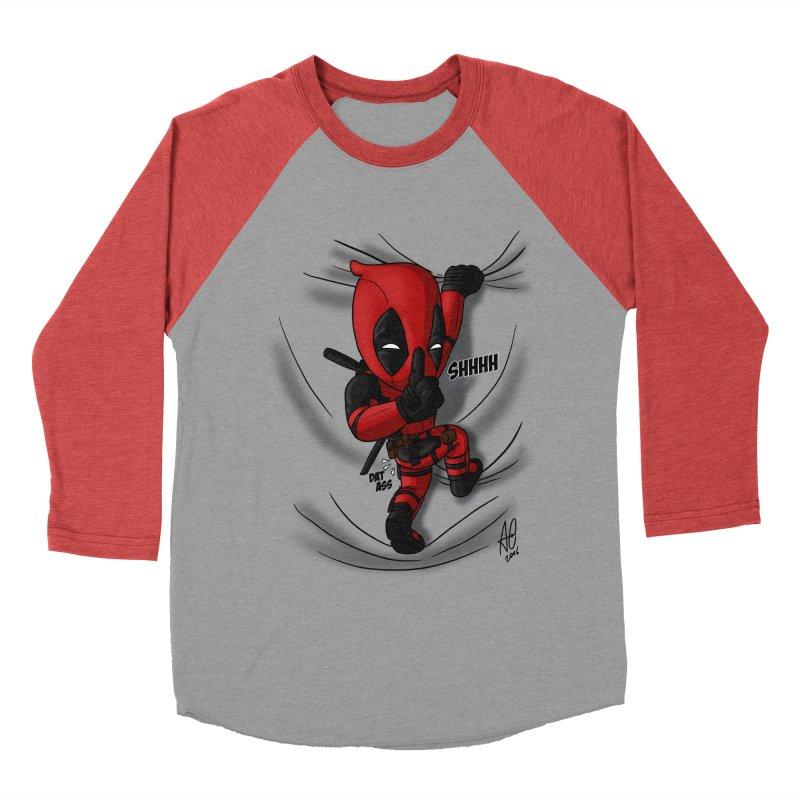 shush Mr. Pool is coming Men's Longsleeve T-Shirt by Andrew's Fantastic World Shop