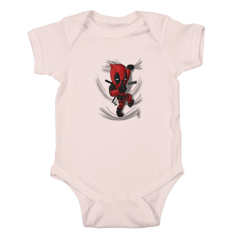 shush Mr. Pool is coming Kids Baby Bodysuit by Andrew's Fantastic World Shop