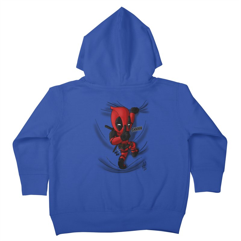 shush Mr. Pool is coming Kids Toddler Zip-Up Hoody by Andrew's Fantastic World Shop
