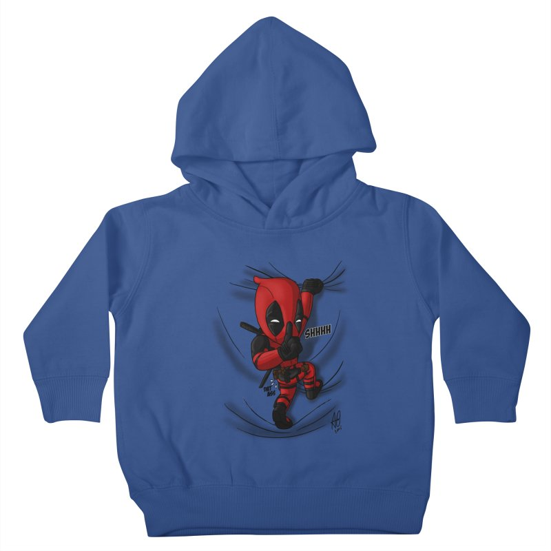 shush Mr. Pool is coming Kids Toddler Pullover Hoody by Andrew's Fantastic World Shop