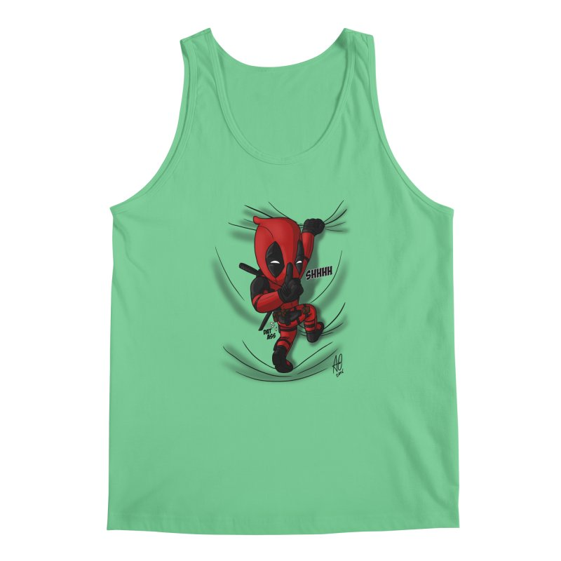 shush Mr. Pool is coming Men's Tank by Andrew's Fantastic World Shop