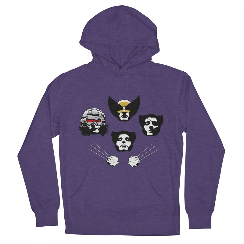 Wolverian Rhapsody Women's Pullover Hoody by Andrew's Fantastic World Shop