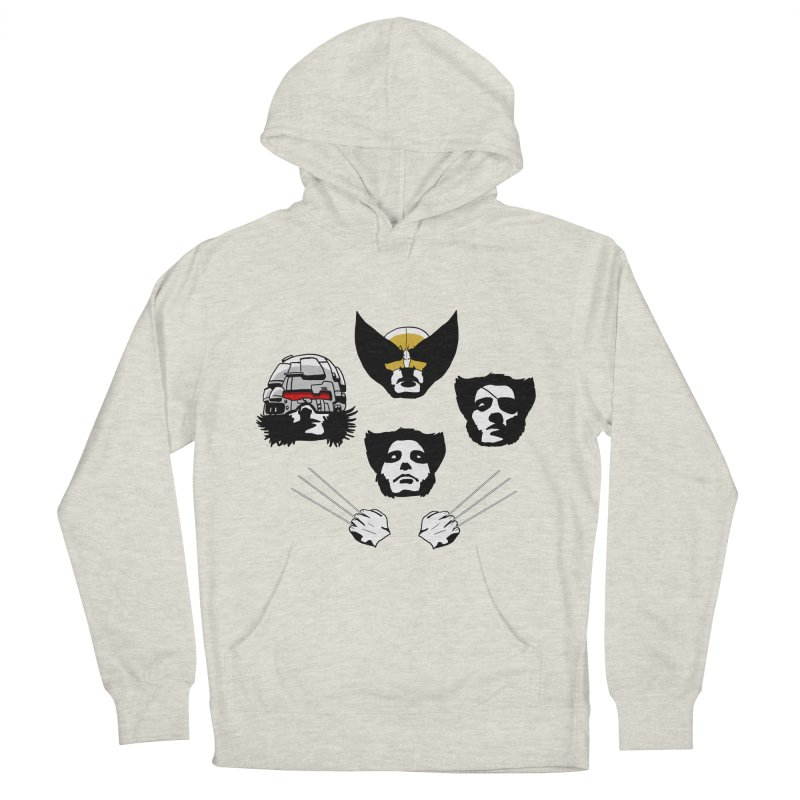 Wolverian Rhapsody Men's Pullover Hoody by Andrew's Fantastic World Shop