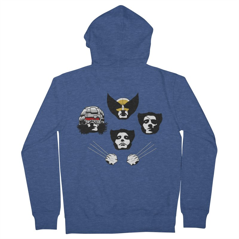 Wolverian Rhapsody Men's Zip-Up Hoody by Andrew's Fantastic World Shop
