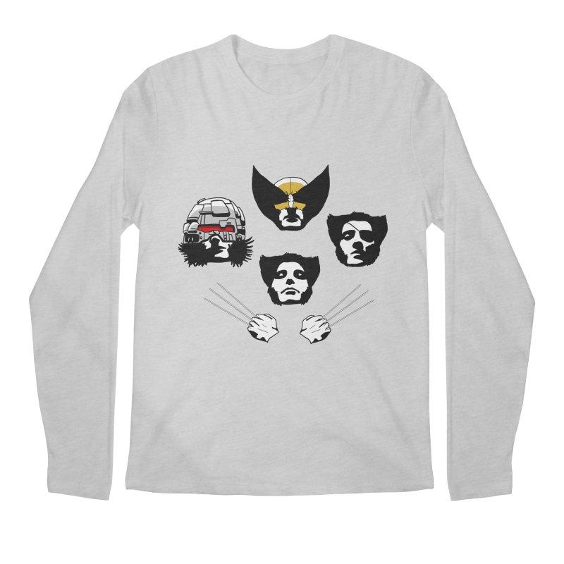 Wolverian Rhapsody Men's Longsleeve T-Shirt by Andrew's Fantastic World Shop