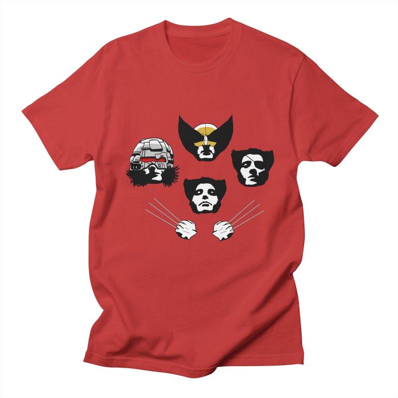 Wolverian Rhapsody Men's T-shirt by Andrew's Fantastic World Shop