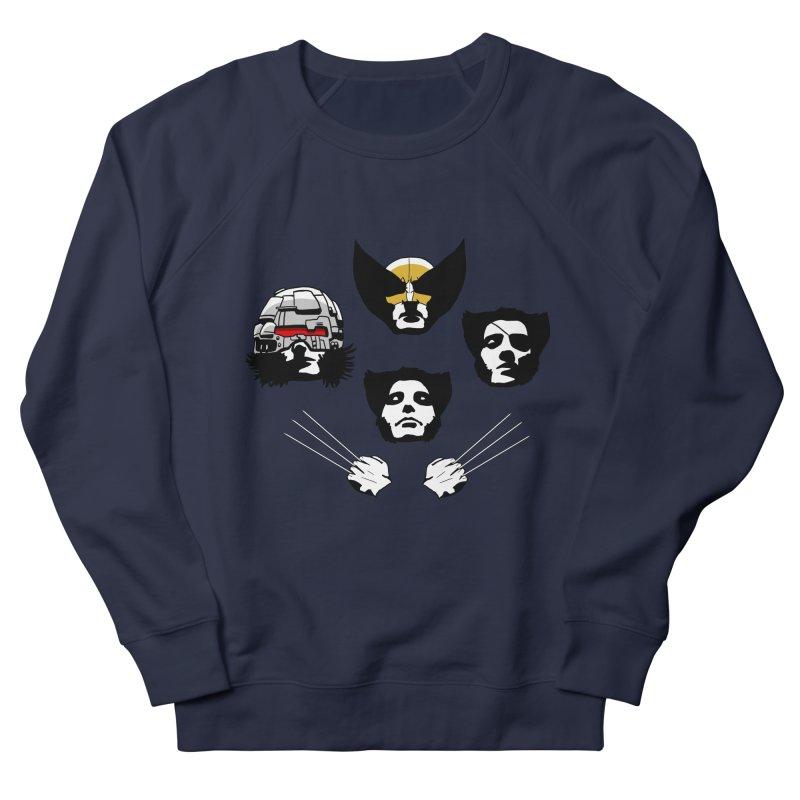 Wolverian Rhapsody Women's French Terry Sweatshirt by Andrew's Fantastic World Shop